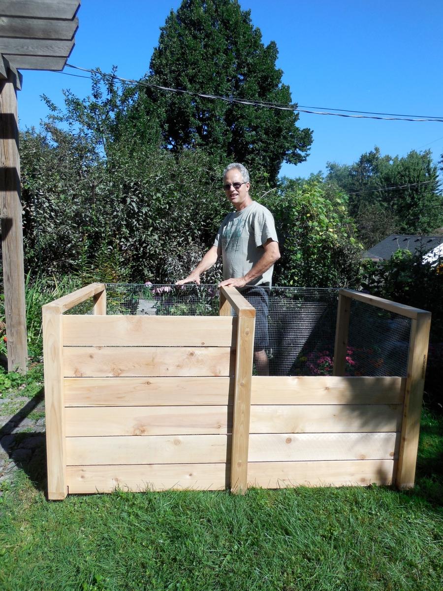 steve u0027s earth engine u2013 cedar composter composting unit